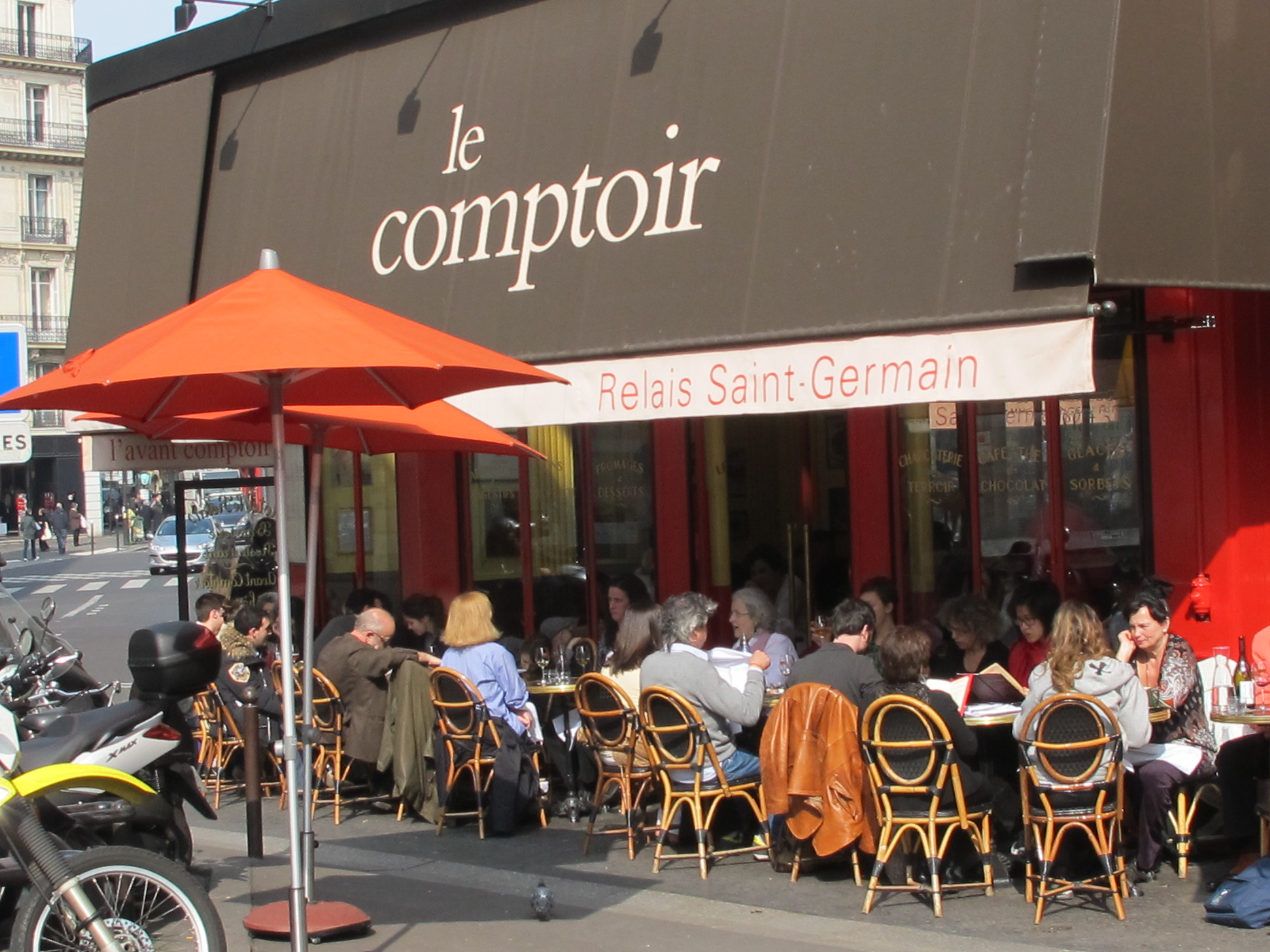 Paris food adventures day 2 le comptoir du relais - Le comptoir paris restaurant ...
