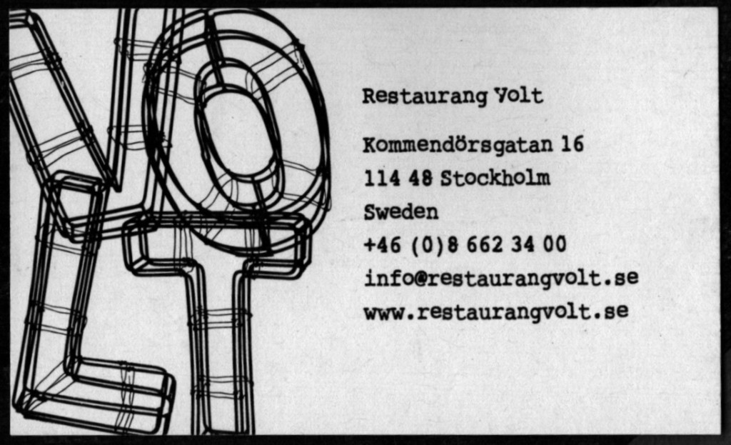 Volt Business Card