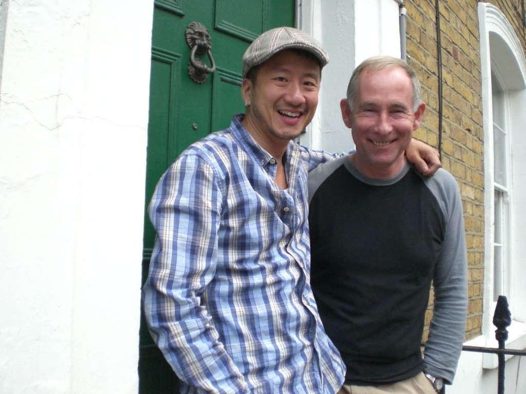2009, Visit to Peter at his home on Rector Street in Islington