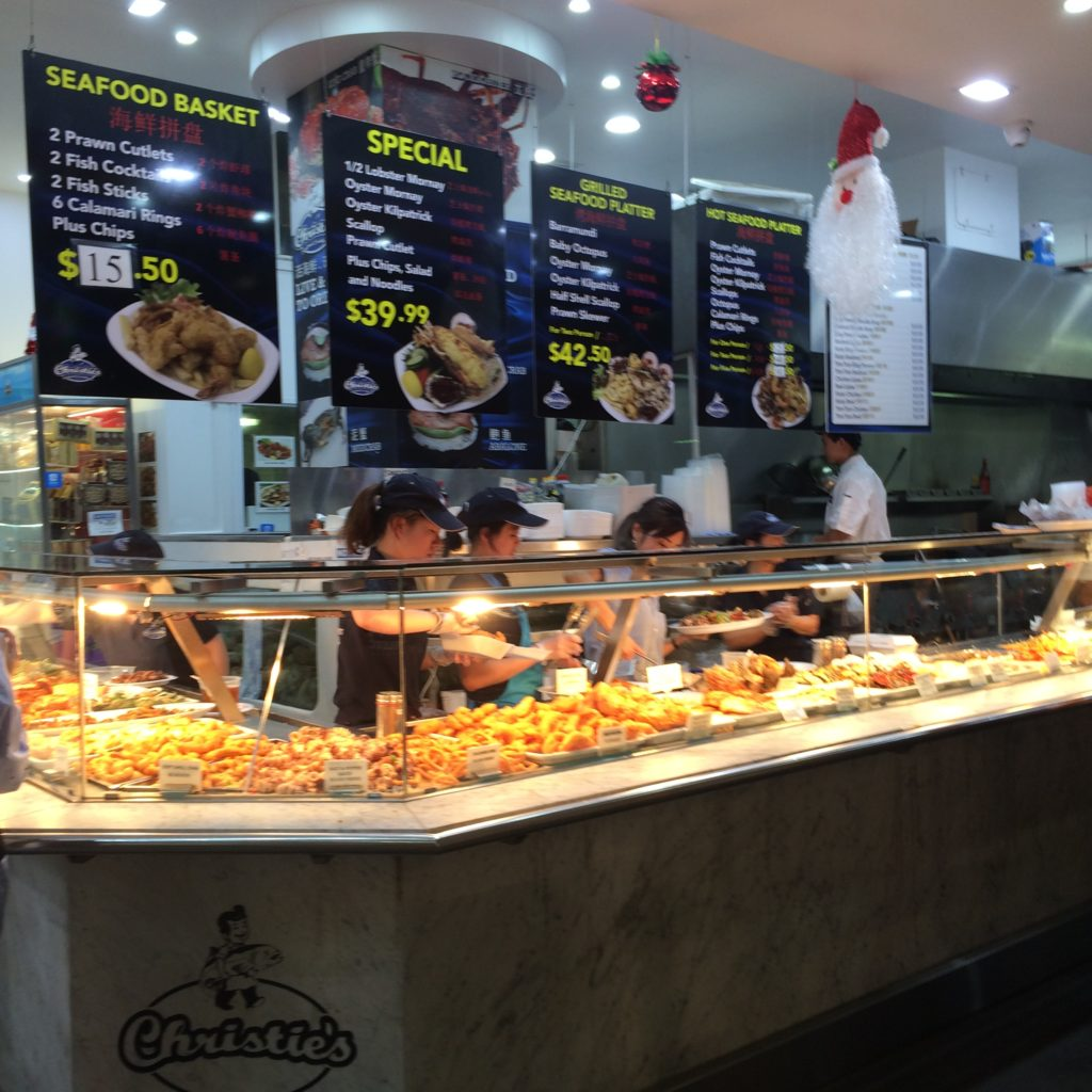 Sydney Food Diary: Christie's Seafood Excellence, Fish Market | welcome to  andyville
